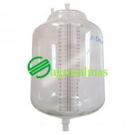 Γυάλινο Τερματικό Δοχείο Γάλακτος 26Λ