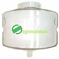 Γυάλινο Τερματικό Δοχείο Γάλακτος 50Λ