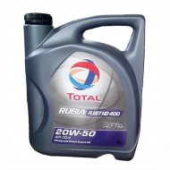 TOTAL Rubia Fleet HD400 20W50 Δοχείο 4Λ