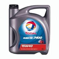 TOTAL Rubia Tir 7400 15W40 Δοχείο 5Λ
