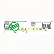 Τζίνι Ανέμης WELGER AP71/61/63/530- 4 σπείρες
