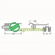 Τζίνι Ανέμης Ροτοπρέσας GALLIGNANI CR3200-3200L