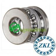 51100 Αξονικό Σφαιρικό Ρουλεμάν ZKL